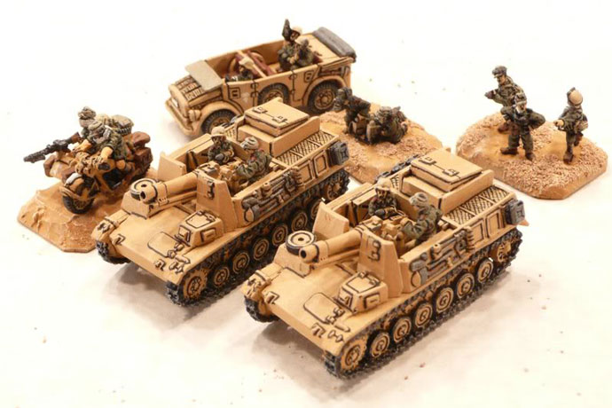 Heavy Infantry Gun Platoon (Bisons)