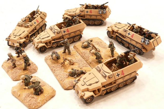 Gepanzerte Panzergrenadier Weapons Platoon