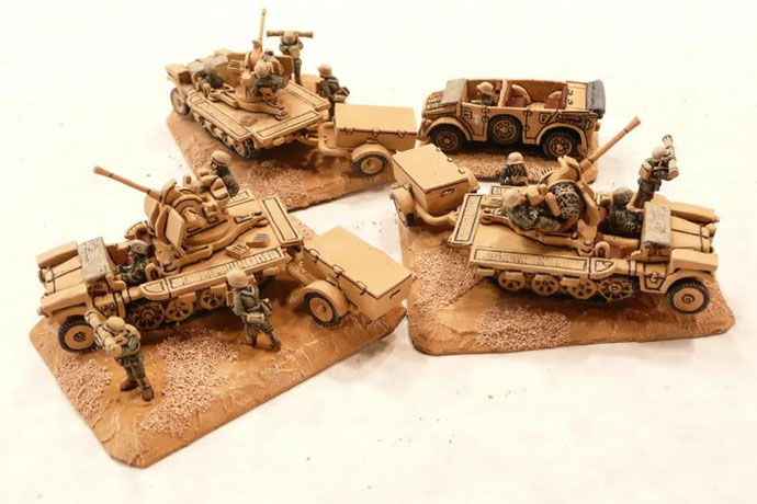 Light Anti-Aircraft Platoon (Sd Kdz 10/5 2cm)