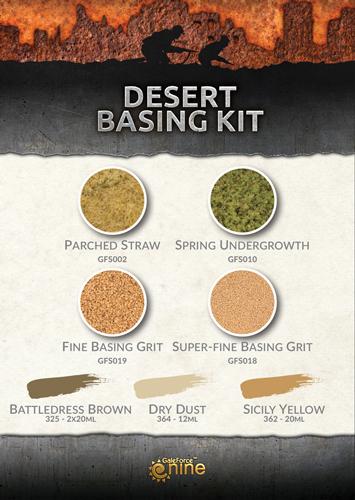 Desert Basing Kit (CWP103)