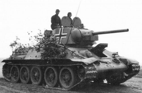 Examples of Beutepanzer with Notek Lights