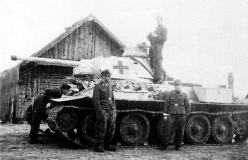 Examples of Beutepanzer with Stowage Bins