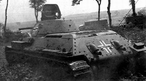 Examples of Beutepanzer with Antennas