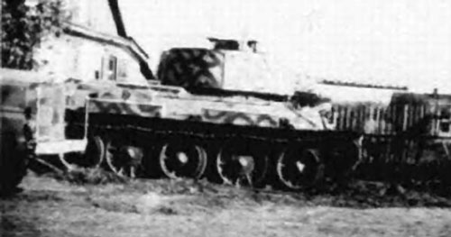 Examples of Beutepanzer with Schürzen