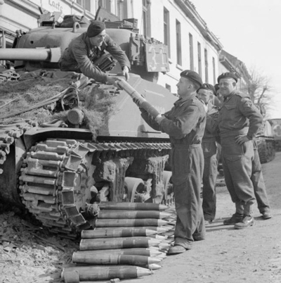 Added Protection: Using the Sherman Improvised Armor