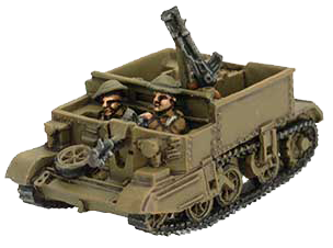 New one-piece Universal Carrier