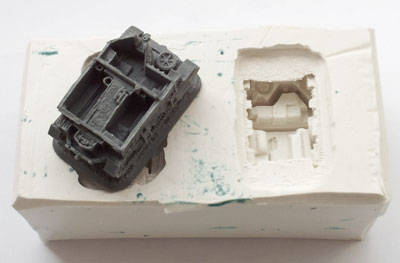 The old Universal Carrier one-part mould