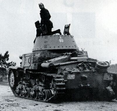 Clearly seen on this tank is the tactical marking on the turret rear