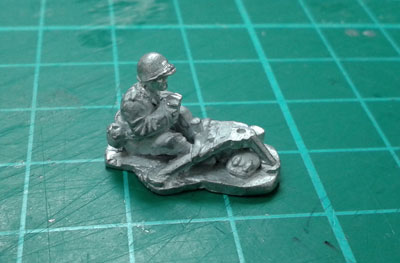 .50 cal MG gunner