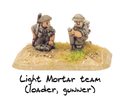 Light Mortar team