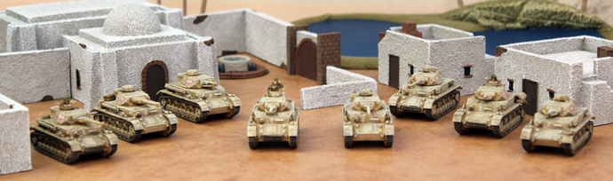 Painting The Panzer IV Company