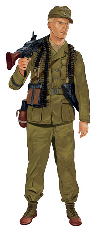 German DAK Desert Uniform