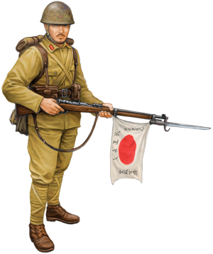 Painting Japanese Forces For Flames Of War