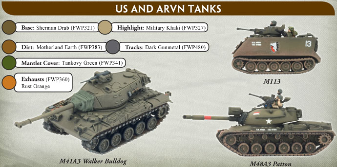 US Vehicle Painting Guide
