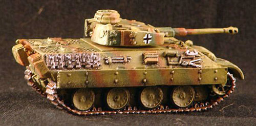 Bergepanther with Panzer IV Turret