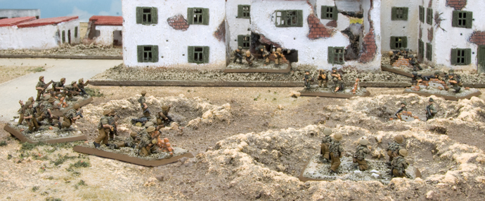 1. Fallschirmjäger Division in action