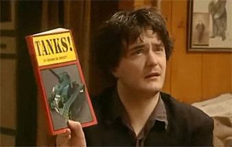 Bernard Black can't wait for TANKS