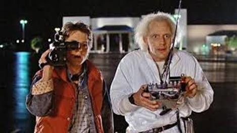 Wait a minute, Doc. Are you telling me that you built a time machine... out of a DeLorean?