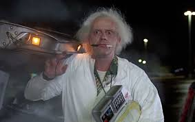 This sucker's electrical, but it requires a nuclear reaction to generate the 1.21 gigawatts of electricity I need.