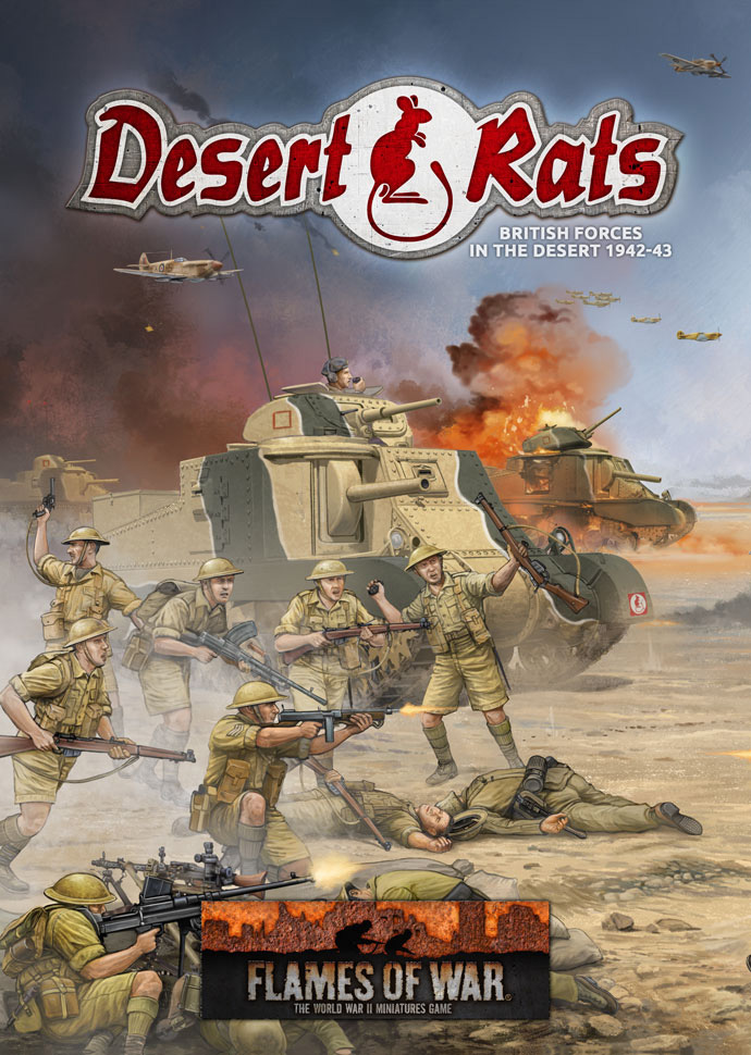 Desert Rats: British Forces in the Desert 1942 - 1943 (FW241)