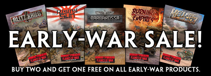 Early-war Sale!
