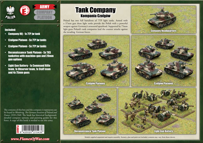 Tank Company (PLAB02)