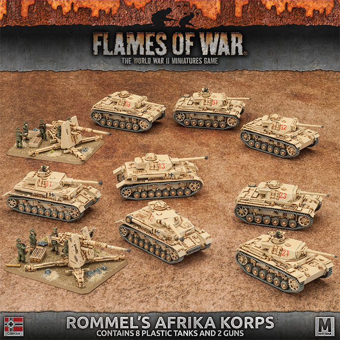 Rommel's Afrika Korps Preview