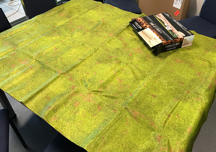 Gaming mat - fresh from the box