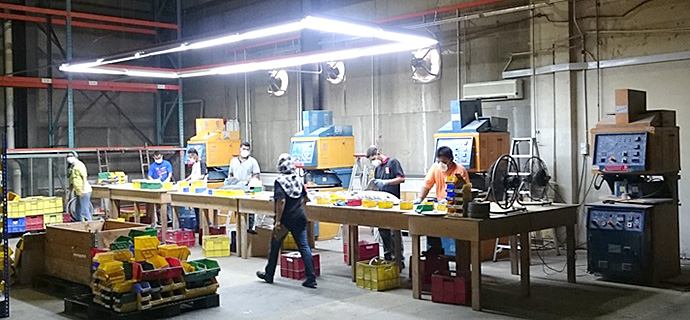 New Factory - Metal Casting Department