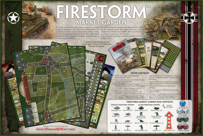 Firestorm Market Garden Box Details
