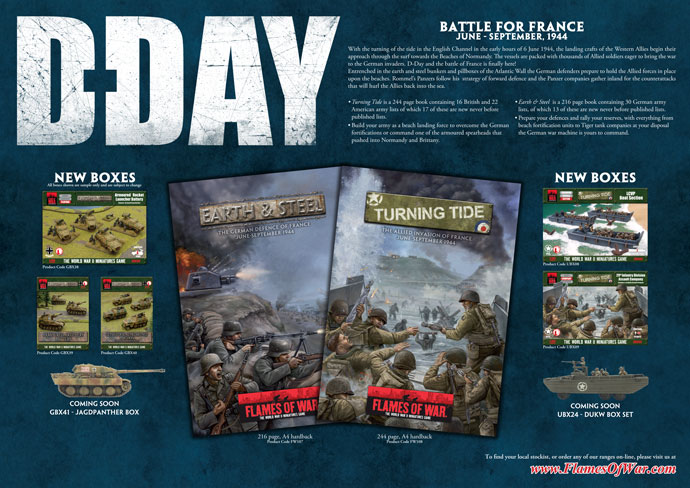 D-Day Promo Poster