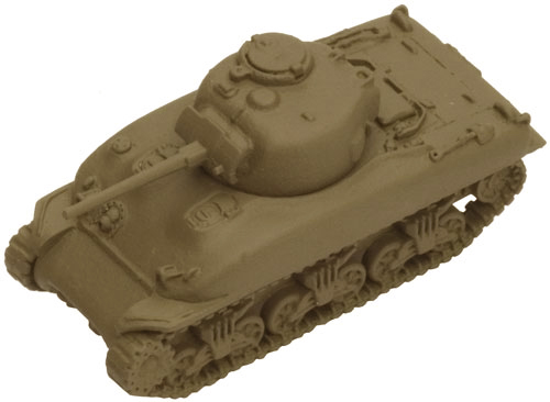 A Sherman painted with Sherman Drab (Mid/Late)