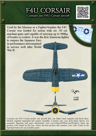 Pacific Product Preview: F4U Corsair