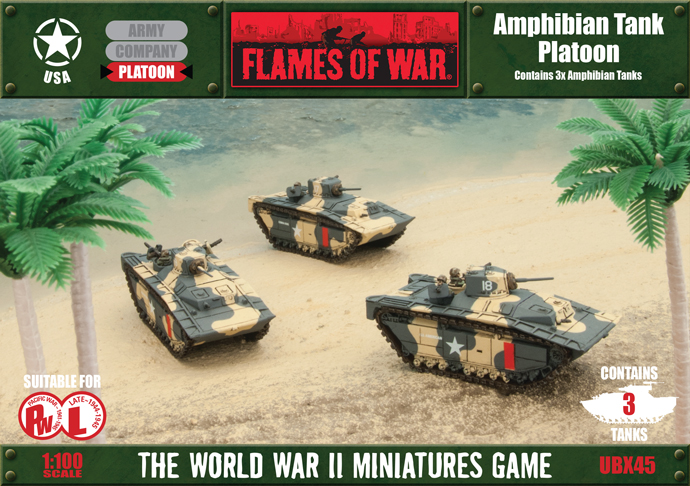 Pacific Product Preview: Amphibian Tank Platoon