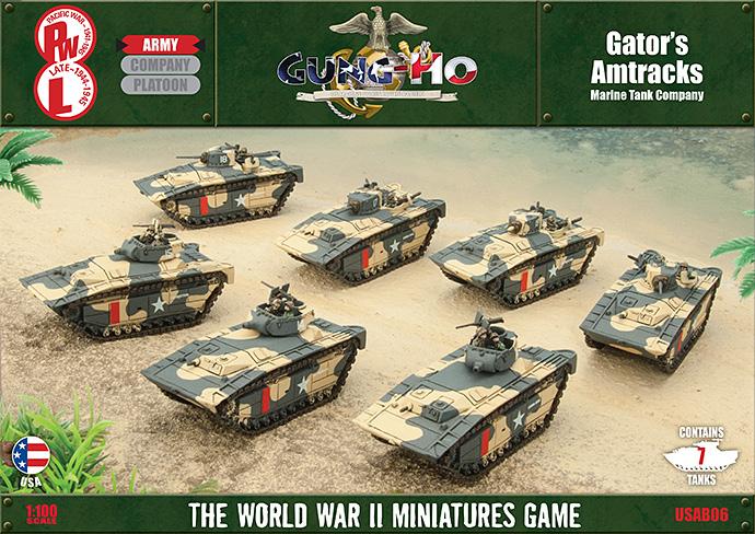 Gator's Amtracks – Marine Tank Company (USAB06)