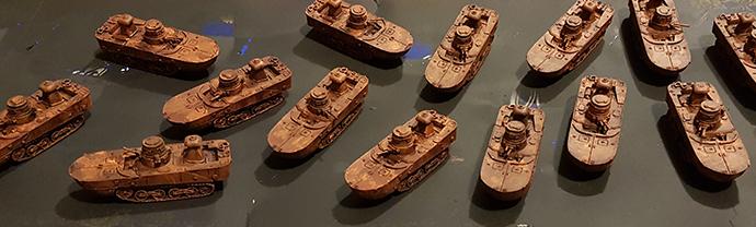 Andrew's Ka-Mi Amphibious Tank Company