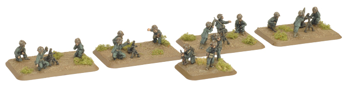 Pacific Product Preview: Mortar Platoon (with 60mm and 81mm Platoons)