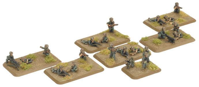 Pacific Product Preview: Company Machine-gun Platoon