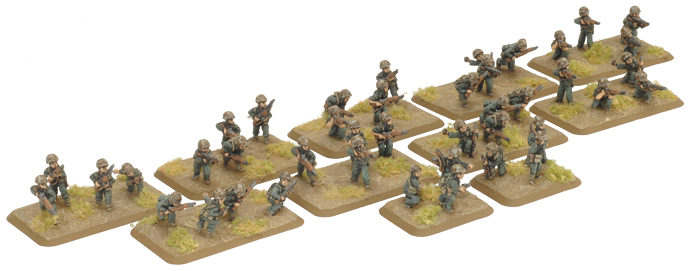 Pacific Product Preview: Marine Rifle Platoon (with HQ team)