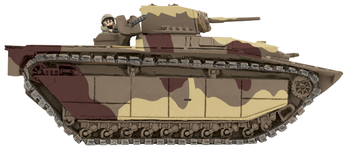 Painting LVT Tanks