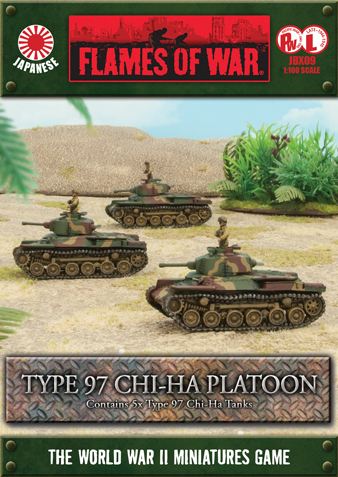 Pacific Product Preview: Type 97 Chi-Ha Platoon