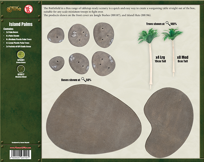 Island Palms (BB197)