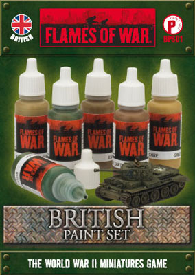 British Paint Set (BPS01)