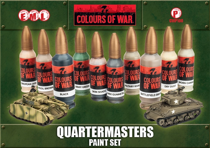 Quartermaster's Paint Set (CWP100)