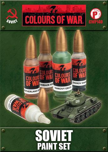 Soviet Paint Set (CWP140)