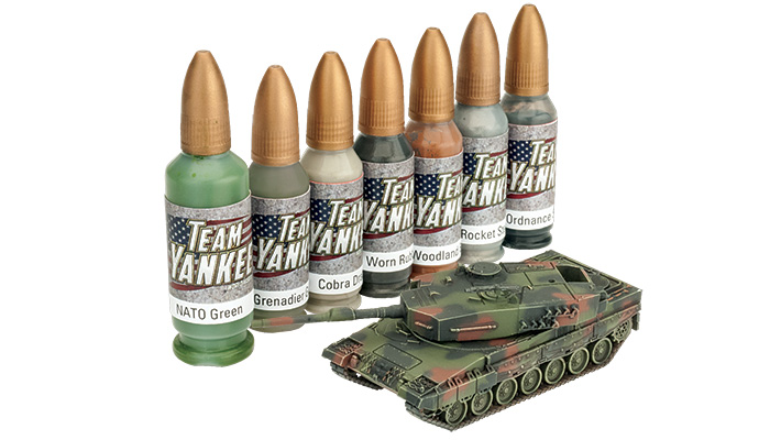 Team Yankee German Paint Set (TYP192)