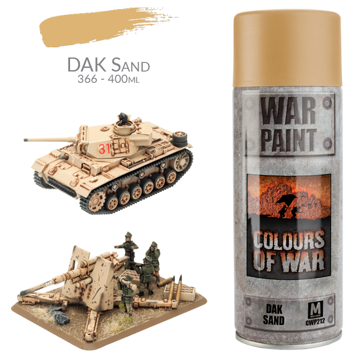 Afrika Korps Spray Can (CWP212)