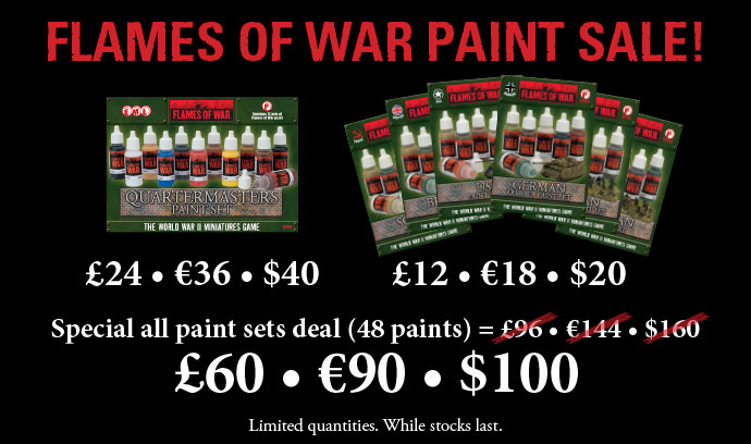 Flames Of War Paint Sale