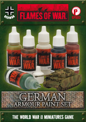 German Armour Paint Set (GPS02)