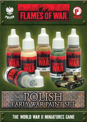 Polish Early War Paint Set